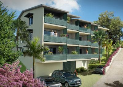 Immobilier neuf – Possession Quartier à l'entrée de Pichette (97419) La Réunion