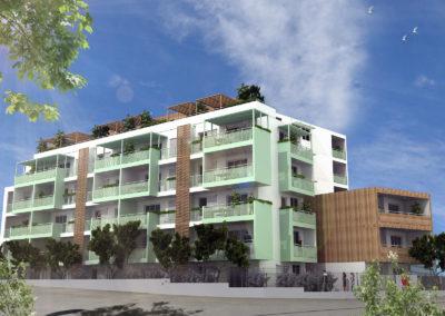 Immobilier neuf – Saint-Denis quartier champ fleuri résidence sénior (97400) La Réunion