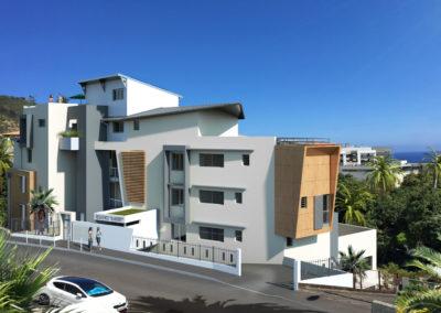 Immobilier neuf – Saint-Denis quartier Bellepierre (97400) La Réunion
